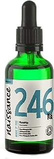 Naissance Wildrosenöl BIO/Hagebuttenkernöl BIO Nr. 246 50ml – kaltgepresst, rein und natürlich, vegan