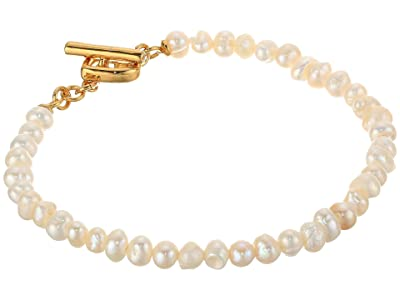 Kate Spade New York Pearl Drops Mini Pearl Bracelet (Cream) Bracelet