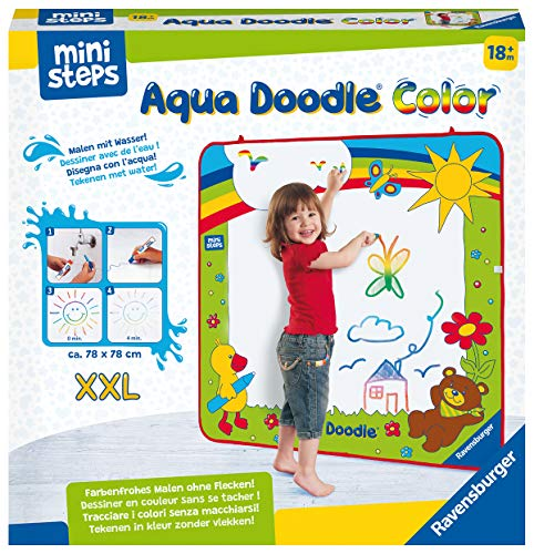 Ravensburger ministeps 04182 Aqua Doodle XXL Color, Yellow