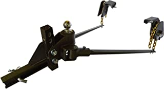 Blue Ox BXW1000 SWAYPRO Weight Distributing Hitch 1000lb Tongue Weight for Standard Coupler with Clamp-On Latches