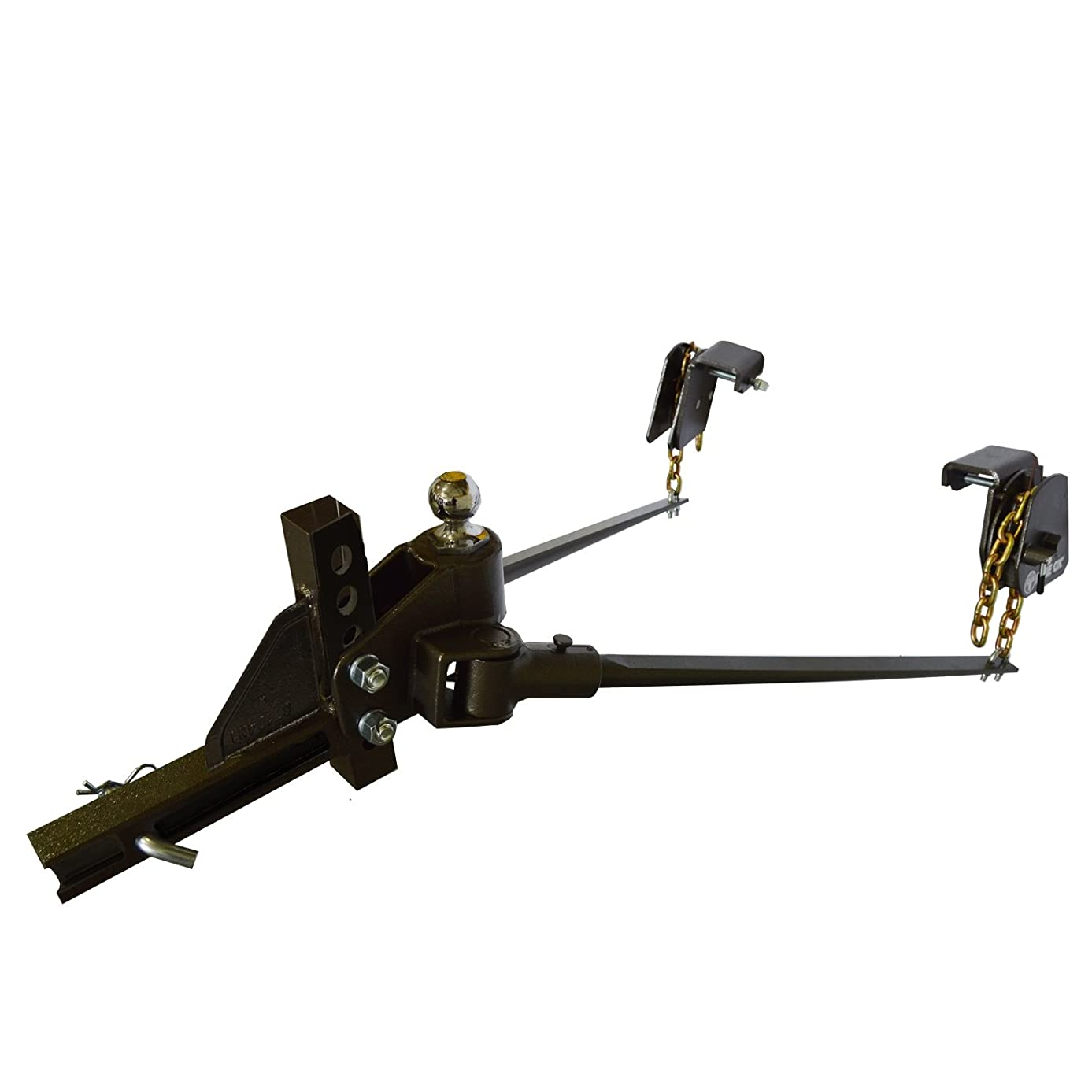 Blue Ox BXW1003 SWAYPRO Weight Distributing Hitch 1000lb Tongue Weight for Underslung Coupler with Clamp-On Latches
