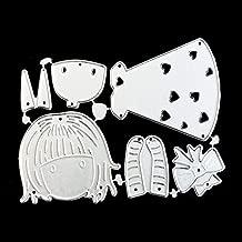 Hemore - Troqueles de corte de metal para manualidades, diseño de dibujos animados