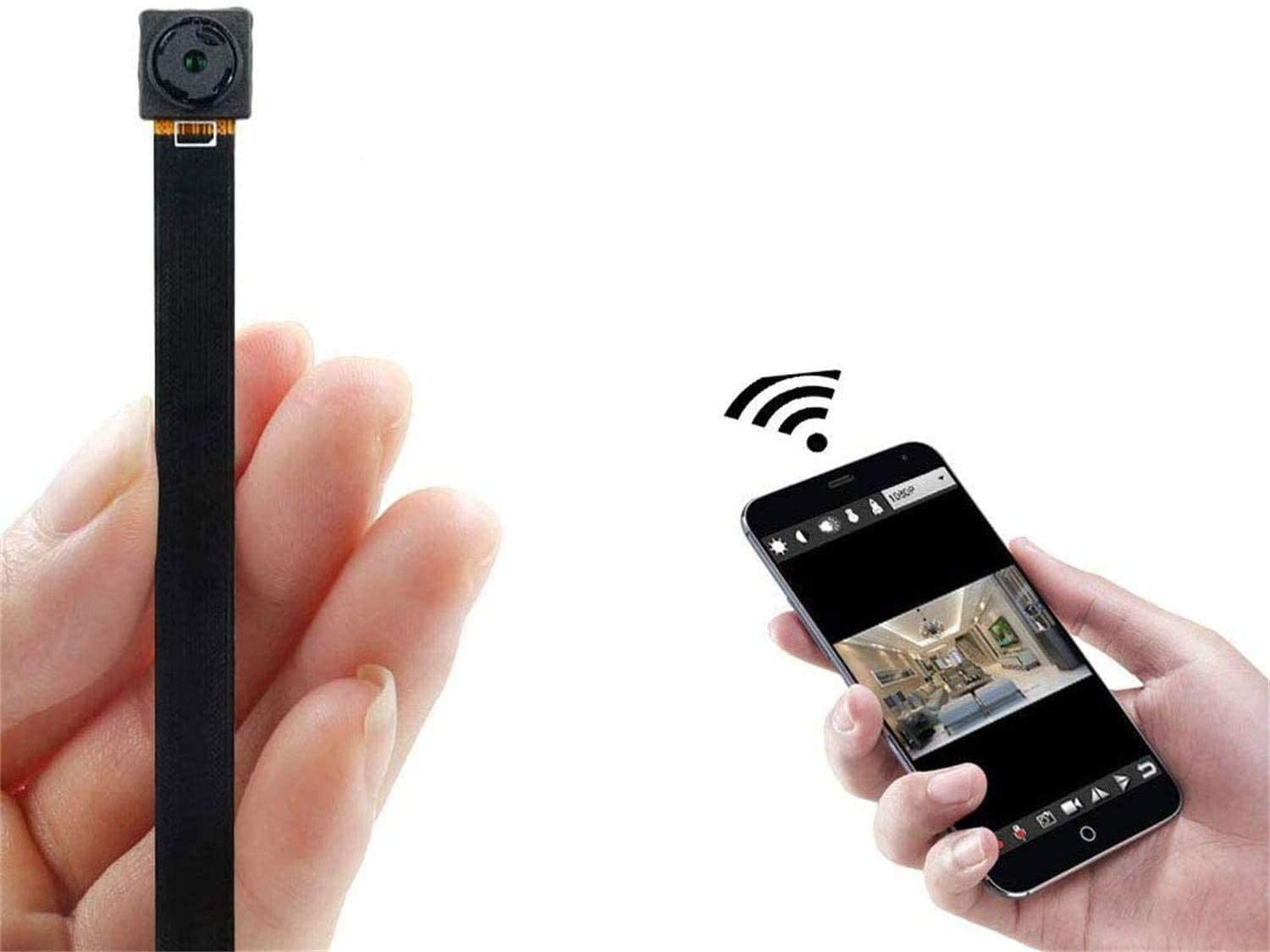 Mini Spy Camera WiFi Hidden with Home Mo 5 ☆ very popular All stores are sold Security