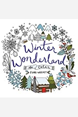 Winter Wonderland To Color: Coloring Book for Adults and Kids to Share Paperback