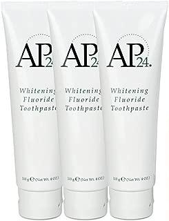 Nu Skin tlKTWs Ap 24 Whitening Fluoride Toothpaste, 4 oz, 3 Pack