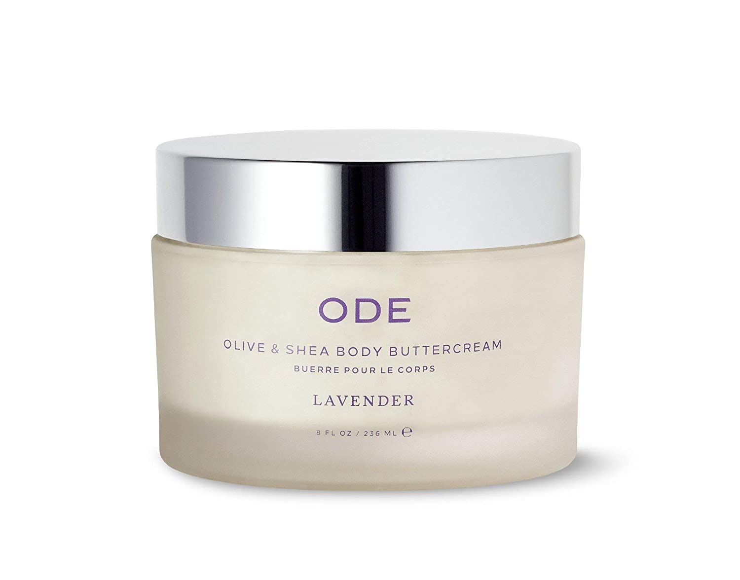 ODE Natural Beauty Year-end annual account Free shipping anywhere in the nation Olive Shea LAVENDER Buttercream - Body 8oz