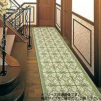 生活 雑貨 インテリア関連 三重織 い草廊下敷 約80×350cm グリーン