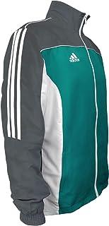 Combat Sports 3-Stripes 100% Polyester Long Sleeve Light Track Jacket