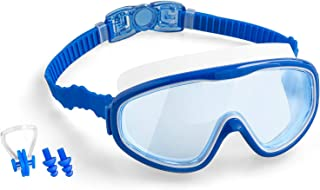 COOLOO Kids Swim Goggles, 2-Pack Wide Vision Swimming...
