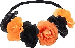 Love Sweety Rose Flower Headband Floral Crown Mexican Hair Wreath