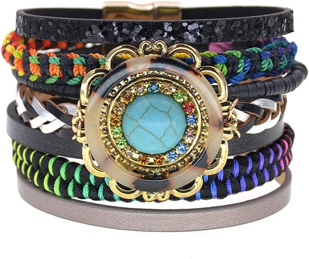 Bohemia Bracelets Sales Leather Charm [Alternative dealer] Handmade For