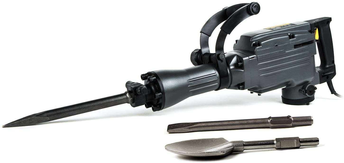 TR Industrial-Grade 4-Piece Demolition Hammer