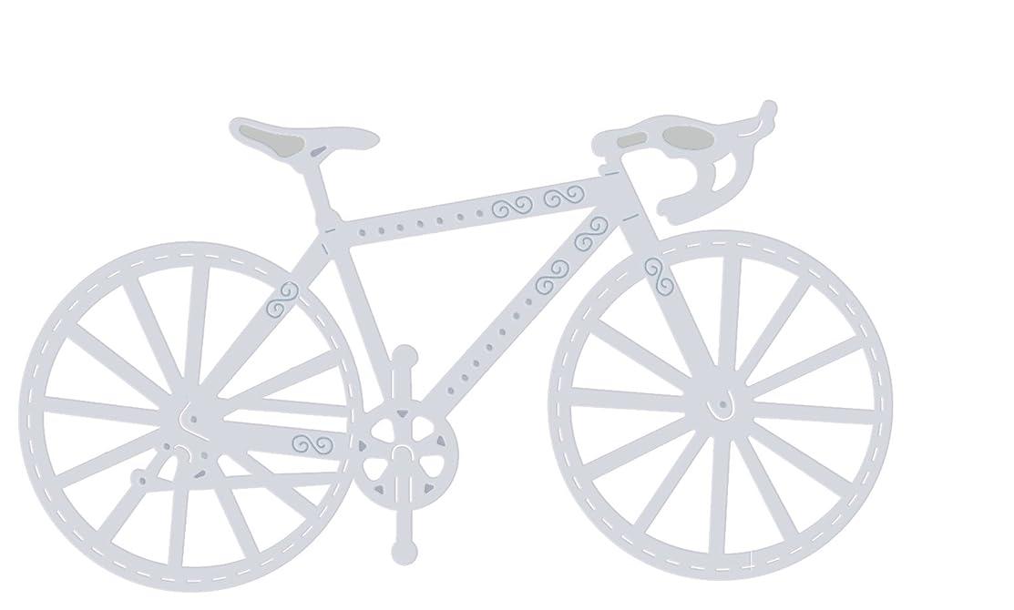 Sweet Dixie 1 x Racing Bike Die, Grey, Medium