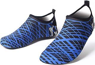 Valpeak Men's Water Shoes Quick-Dry Aqua Socks For Swim Barefoot Shoes For Beach Pool Surf Diving Yoga