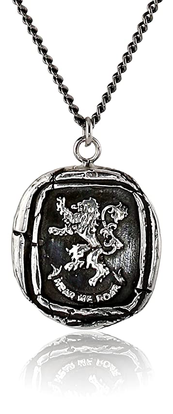 Pyrrha Unisex Pyrrha For HBO's Game of Thrones Silver House Lannister Necklace, 22