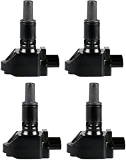 ENA Pack of 4 Ignition Coils Compatible with Mazda RX-8 R2 1.3L Compatible with C1459 UF501 UF-501