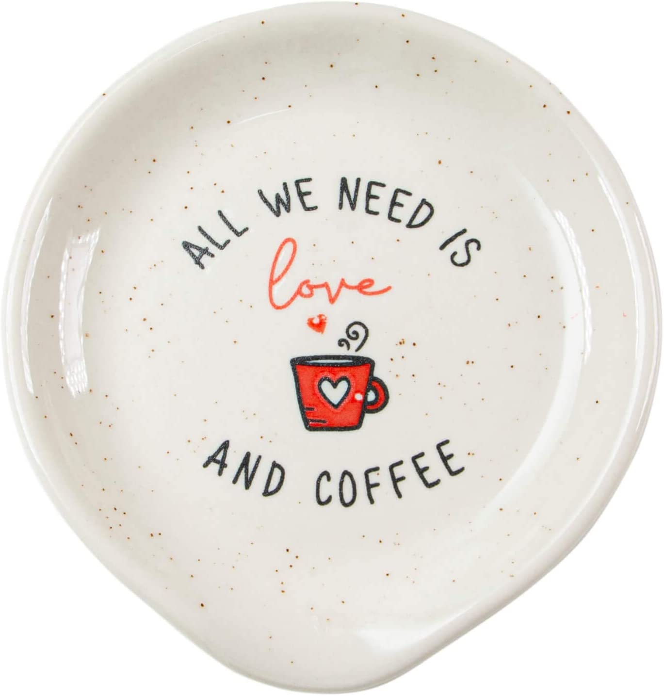 All We Need Is Love and Coffee Gift for Women Men VILIGHT Coffee Spoon Rests coffee station D/écor Coffee Bar Accessories