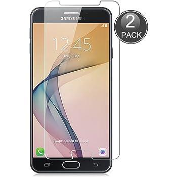 E-Hamii [2-Pack Samsung Galaxy J7 Prime Protector de Pantalla ...