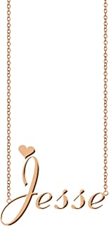Best jesse name necklace Reviews