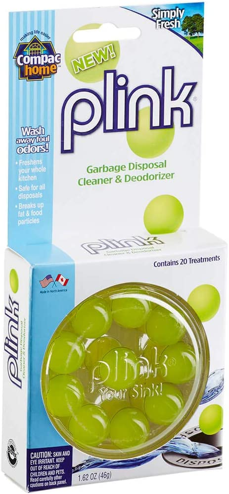 COMPAC HOME Plink Garbage Deodorizer Disposal Infuses Tampa Mall Cleaner Finally popular brand