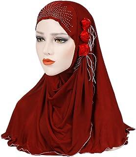 Femmes Foulard Tassel Hijab Musulmane Wrap coiffure Châles Longue Foulards mariage Turban Vêtements, accessoires Femmes: accessoires