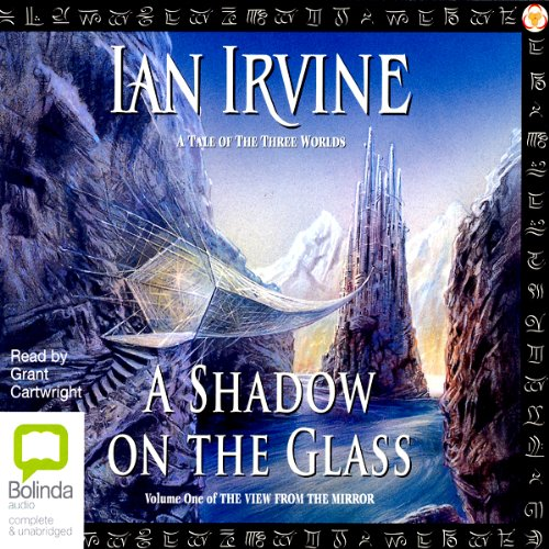A Shadow on the Glass audiobook cover art