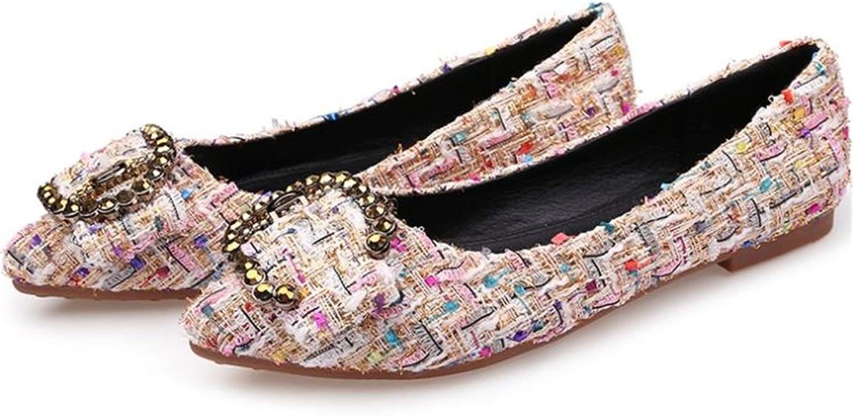 Women's Wedding Flats Beautiful Bow Slip On Foldable Ballet shoes