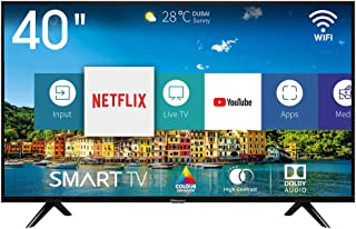 comprar comparacion Hisense H40BE5500, Smart TV Full HD, 2 HDMI, 2 USB, Salida Óptica y de Auriculares, WiFi, Procesador Quad Core, Smart TV V...