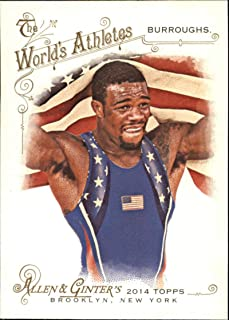 2014 Allen and Ginter #191 Jordan Burroughs Wrestler