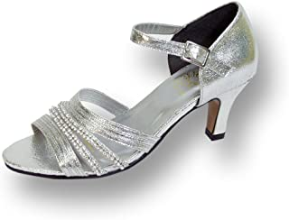 Floral Eryn Women Wide Width Nice and Sexy Evening Dress Shoe for Wedding, Prom, Dinner