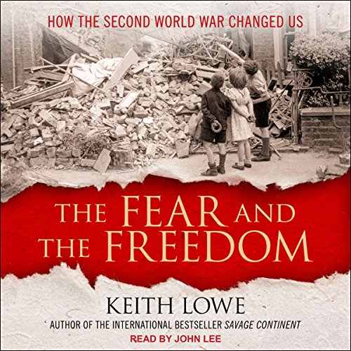 The Fear and the Freedom audiobook cover art