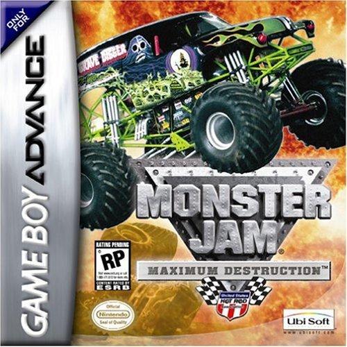 GameBoy Advance - Monster Jam: Maximum Destruction