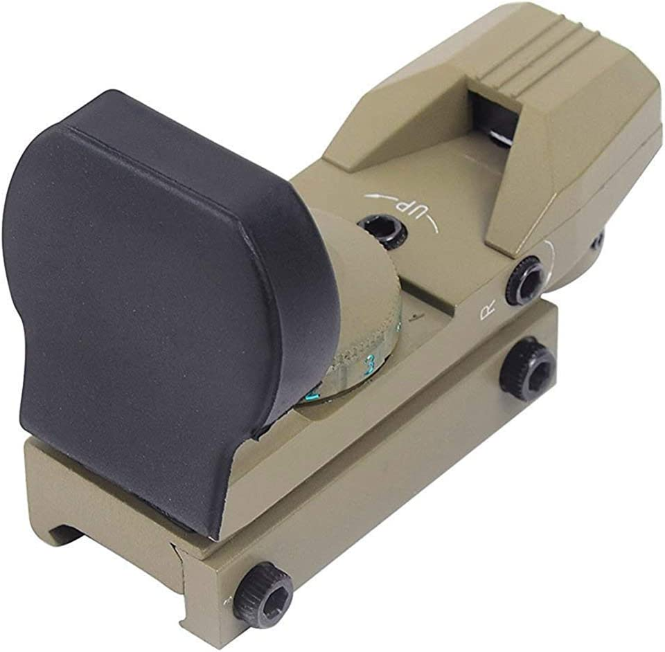 22mm Weaver Picatinny-Schienenhalterung f/ür die Jagd auf Airsoft-Sch/üsse Red Dot Sight 4 Markierungslinie Red Dot Sight mit 20