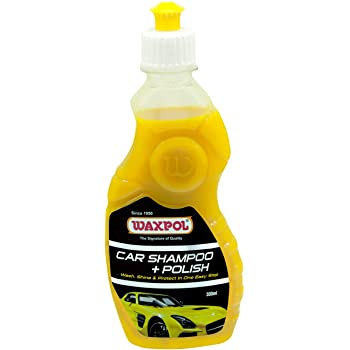 Waxpol Car Shampoo + Polish (300 ml)