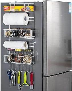 aipipl Accueil-Organisateur de Rangement étagère à épices Multifonction Cuisine réfrigérateur étagère de Rangement Organis...
