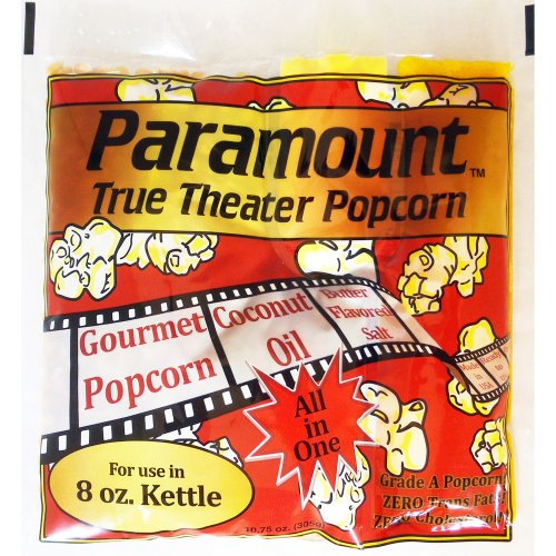 8oz Popcorn Packets - Perfect Portion Packs For 8 oz Popcorn Maker Machine Popper - Case of 24