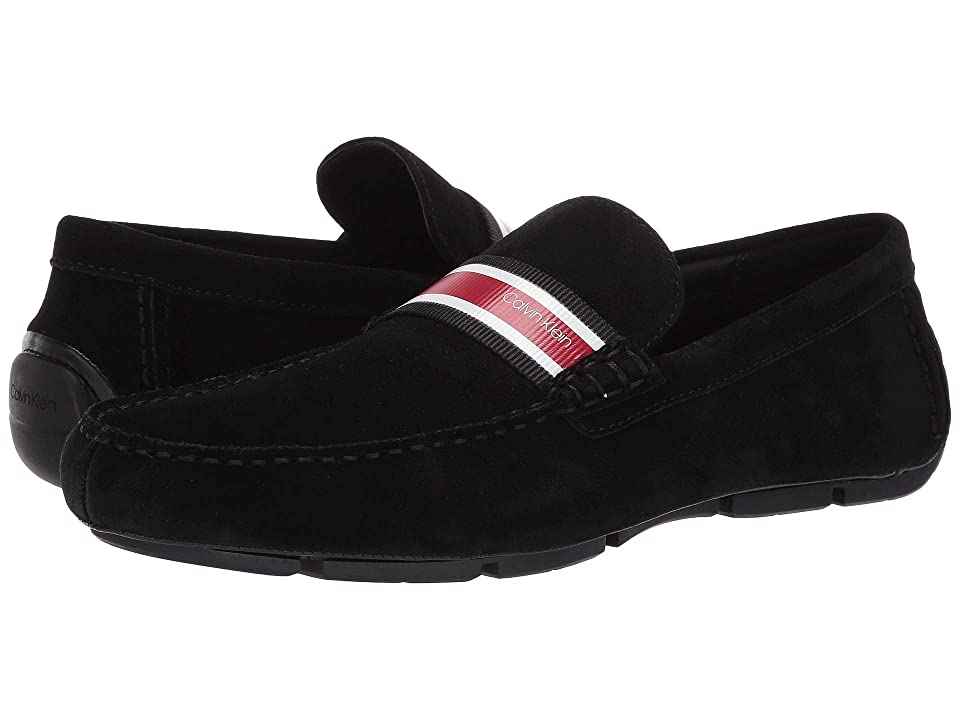 Calvin Klein Kashton (Black/Cherry Calf Suede) Men
