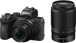 Nikon Z50 Mirroless Camera Body with NIKKOR Z DX 16-50mm f/3.5-6.3 VR & NIKKOR Z DX 50-250mm f/4.5-6.3 VR Lens