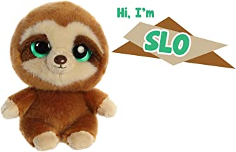 "Aurora YooHoo & Friends Plush Bundle - 8"" Chewoo & 8"" Slo"