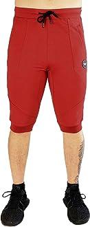 FLEX-N-FLEX Mens 3//4 Cuffed Yoga Pant Army Green, Medium