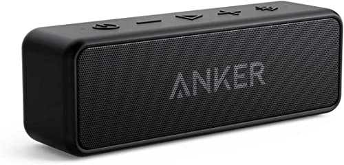 Anker Soundcore 2 Portable Bluetooth Speaker with Superior Stereo Sound, Exclusive BassUp, 12-Watts, IPX5 Water-Resis...