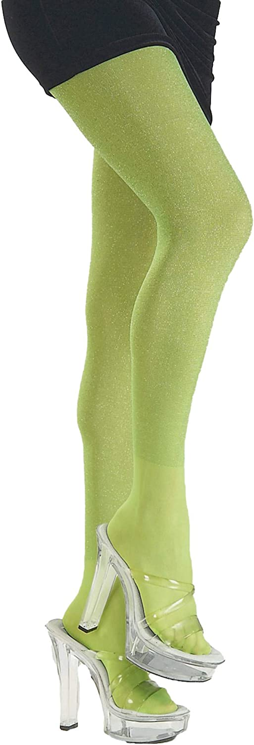 Rubie's Lime Green Glitter Tights Costume New Orleans Mall Accessory Std. Adult 40% OFF Cheap Sale