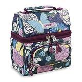 J World Corey Kids Lunch Bag. Insulated Lunch-Box for Women, Secret Garden