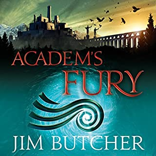 Academ's Fury     The Codex Alera: Book Two              By:                                                                                                                                 Jim Butcher                               Narrated by:                                                                                                                                 Kate Reading                      Length: 20 hrs and 48 mins     76 ratings     Overall 4.6