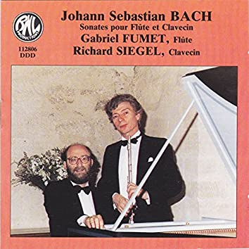 Bach: Sonates pour flûte et clavecin