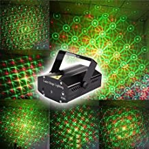 Unica Mini Laser Projector Stage Lighting Sound Activated Laser Light for Party and DJ