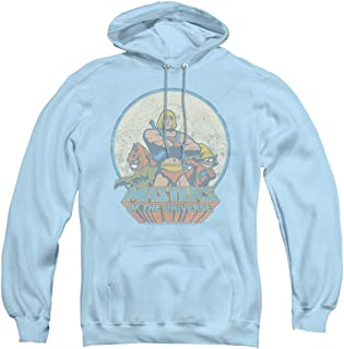 Masters of The Universe He Man and Crew Unisex Adult Pull-Over Hoodie for Men and Women