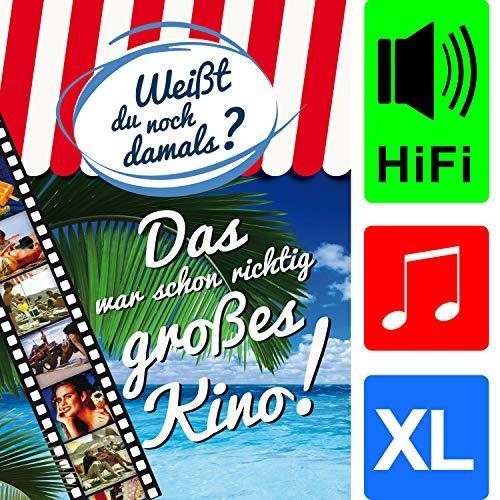 bentino Geburtstagskarte XL mit Musik, DIN A4 Set mit Umschlag, hochwertige Glückwunschkarte spielt