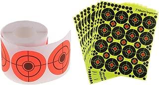 Chasse en Acier Inoxydable Pratique de Tir de Cible Injoyo Set de 5 Cible de Tir Jeu de Tir /à La Cible de Tir /à larc Accessoire