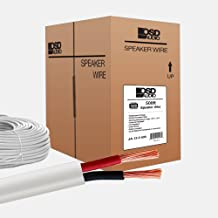 OSD 12 Gauge 2-Conductor 500FT UL CL3 Rated Oxygen Free In Wall Speaker Wire Pure Copper, Direct Burial Graded
